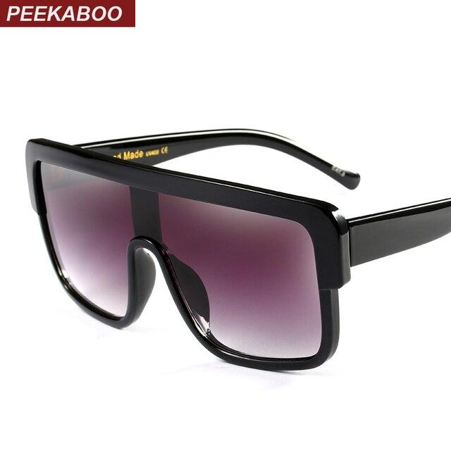 d203445db9a0a Coucou surdimensionné carré lunettes de soleil homme noir mat plat top  grand mode designer shades pour
