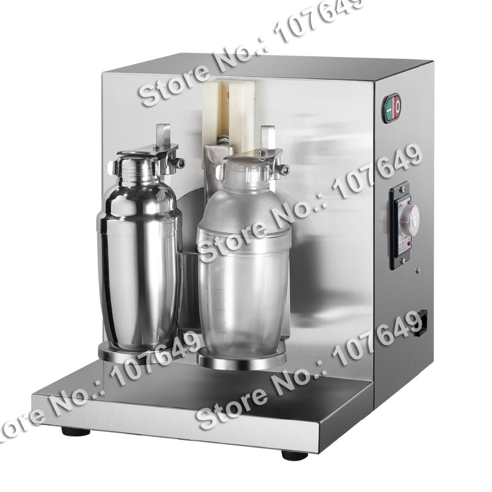 Free Shipping Commercial Use 110v 220v Electric Drink Boba Tea Bubble Tea Shaker Shaking Machine 2016 new generation powerful 220v electric ice crusher summer home use milk tea shop drink small commercial ice sand machine zf