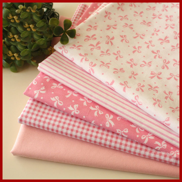 Aliexpress.com : Buy Pink fabric group Pre Cut Twill Cotton ... : quality quilting fabric - Adamdwight.com