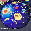 2017 New Solar System Baby Play Mats Buggy Bag Multi-Function Crawling Rug Carpet Blanket Educational Toys For Kids