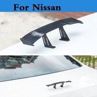Car Styling Mini Model Car Spoiler Rear Wing Sticker For Nissan Otti Dayz Pathfinder Patrol Pino