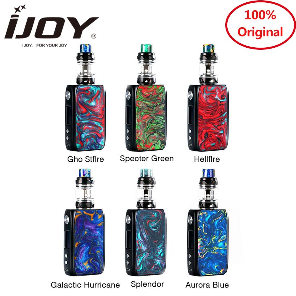 New arrival ijoy SHOGUN UNIV kit 180w double-sided resin panels kit with KATANA SUBOHM Tan