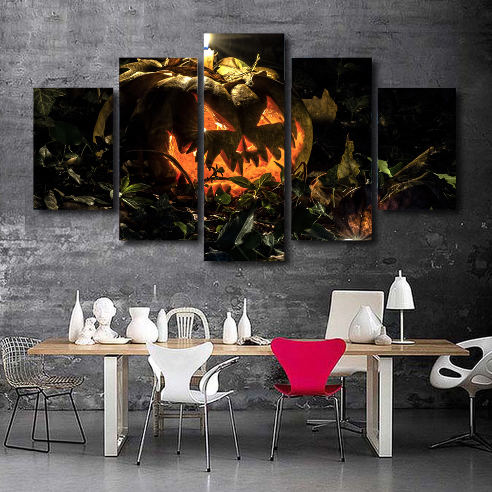 Wall Paintings For Sale Us 22 88 Modular Wall Paintings New Sale Halloween Autumn Background Bats Modern Painting On Canvas Pictures For Living Room Oil Cuadros In Painting