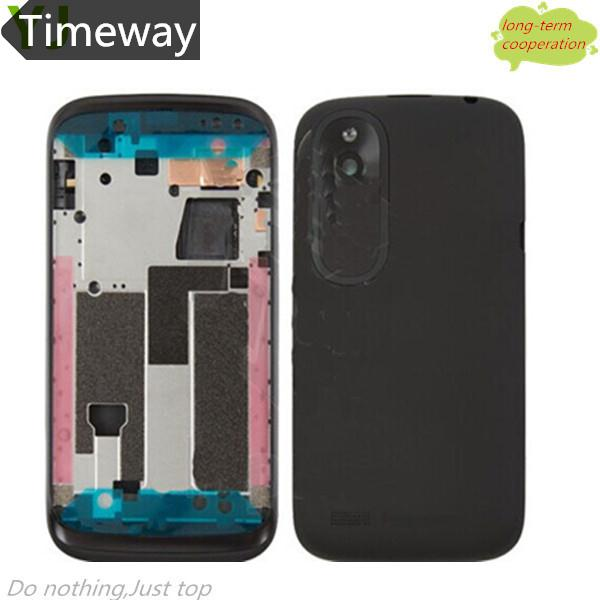 Timeway Original New For HTC Desire V T328W Full Mobile Phone Housing Frame + Middle Chassis + Battery Back Cover