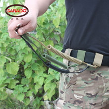 Outdoor army Tactical Gun accessories Rifle Sling Pistol Revolver sling Strap System rope