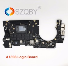 661-8303 For MacBook Pro 15″ A1398 2012 2.3GHz 2.6GHz 8GB Late 2013 16GB ME294 Logic Board Motherboard System board 820-3662-03