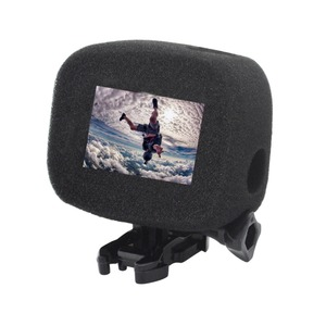 Image 5 - Clownfish FOR Gopro Wind Slayer Case Windscreen Windscreen Windshield Sponge Frame Cover HERO 5/6/7/8 Black Camera Accessories
