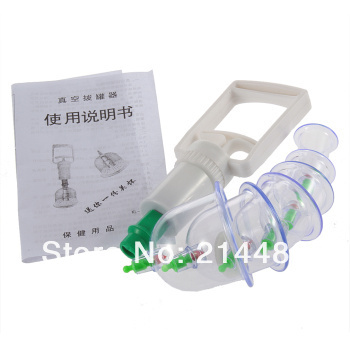 <font><b>High</b></font> <font><b>Quality</b></font> <font><b>6</b></font> <font><b>Cups</b></font> <font><b>Medical</b></font> <font><b>Chinese</b></font> Body Cupping Massage Healthy Kit Brand New