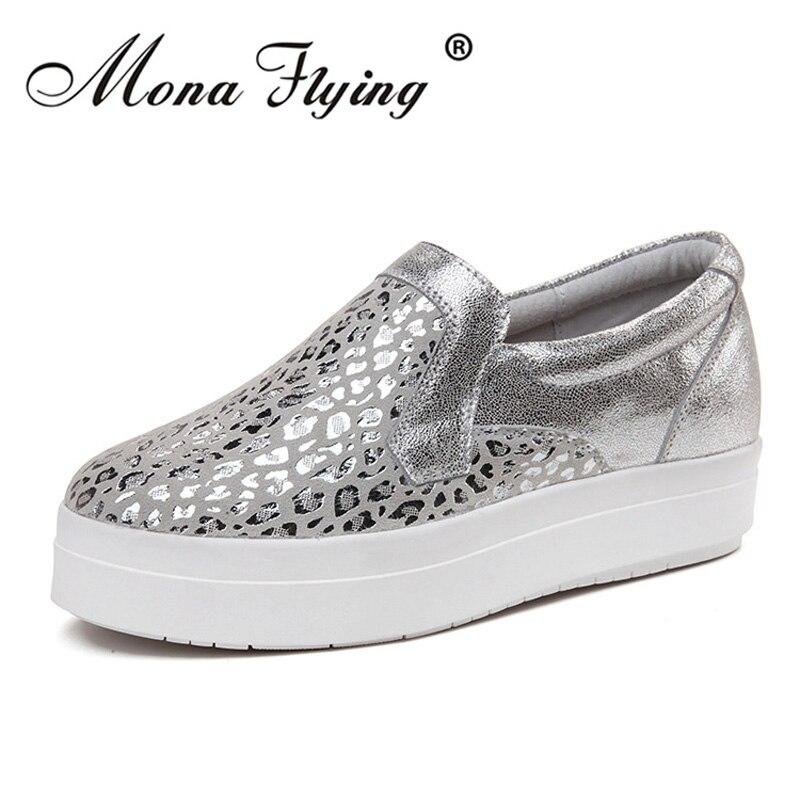 Women Flat Platform Loafers Shos