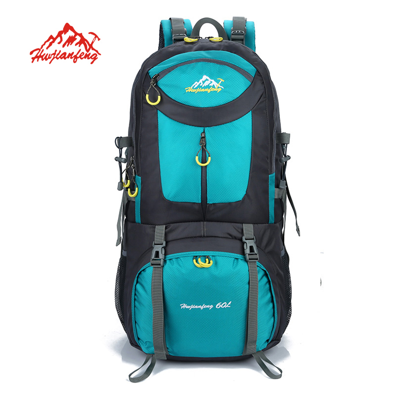60L Outdoor backpack Nylon Sports Bag Camping Hiking Backpack Climbing Sport Bags Mountaineering Rucksacks цена