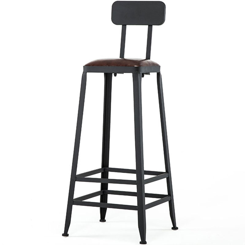 tabouret de bar en fer forge table et chaises hautes modernes et minimalistes pour la maison