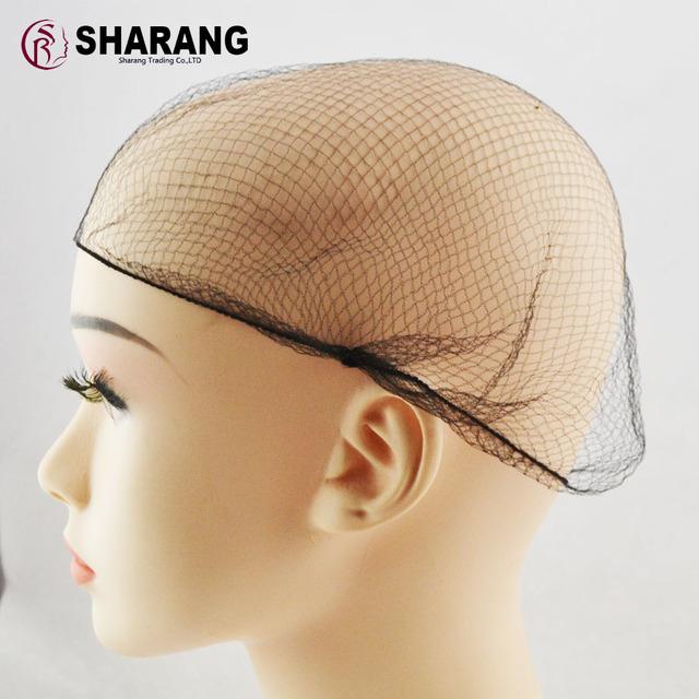 Frete grátis peruca de cabelo Francês net capa de Nylon Melhor rede de Cabelo 144 unidades/pacote 5mm