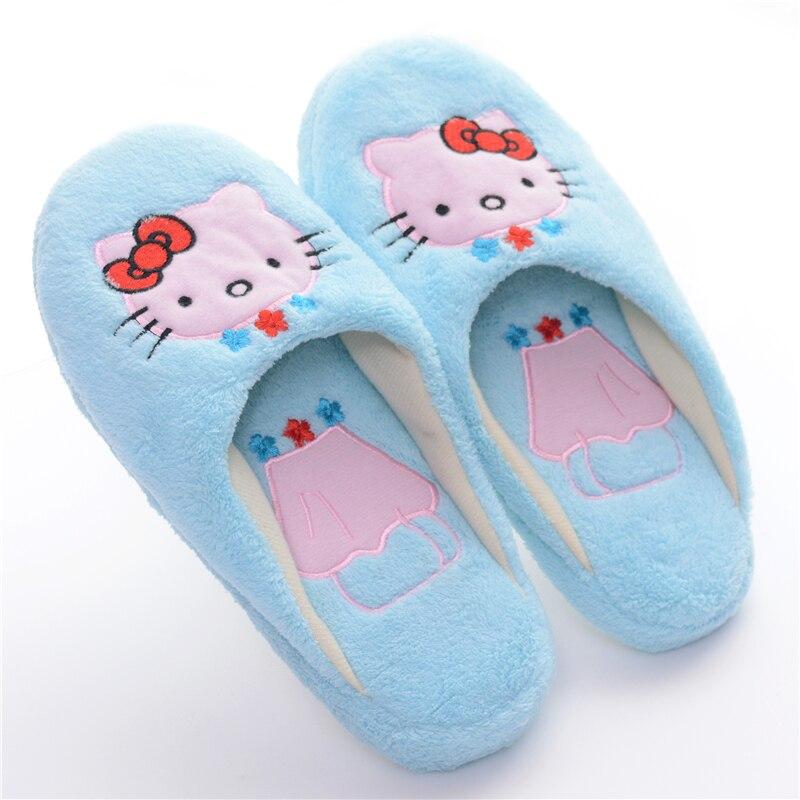 Soft Plush Girls Blue Hello Kitty