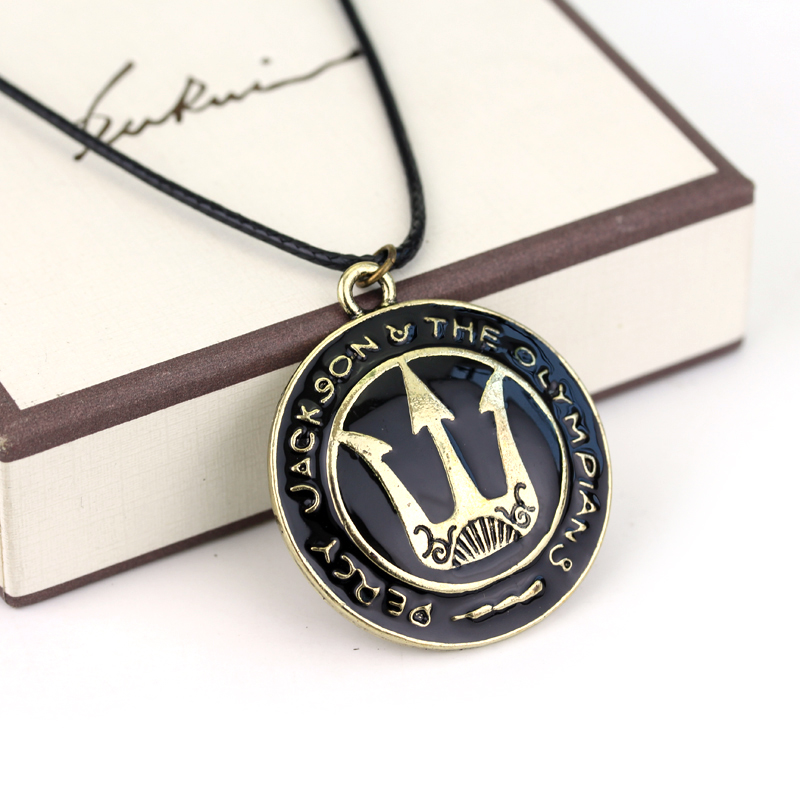 Free shipping percy jackson necklace poseidon necklace for men and free shipping percy jackson necklace poseidon necklace for men and women jewelry trident necklace in chain necklaces from jewelry accessories on aloadofball Choice Image