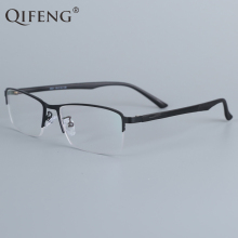 QIFENG Spectacle Frame Eyeglasses Men Korean Computer Optical Myopia Eye Glasses Frame For Male Transparent Clear Lens QF6601 ноутбук hp 15 db0389ur 15 6 1920x1080 amd a6 9225 500 gb 4gb amd radeon 530 2048 мб черный dos 6lc05ea