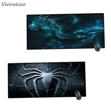 Viviration 2018 Gaming Large Laptop Mousepad New Sale Promotion  Rubber Soft Mat Pad For lol overwatch dota rubber mouse mat pad