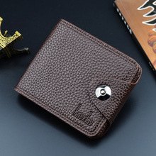 Men Wallets Fashion Mens Wallet with Coin Bag Zipper Small Money Purses Dollar Slim Purse Money Clip Wallet Buckle wholesale 375