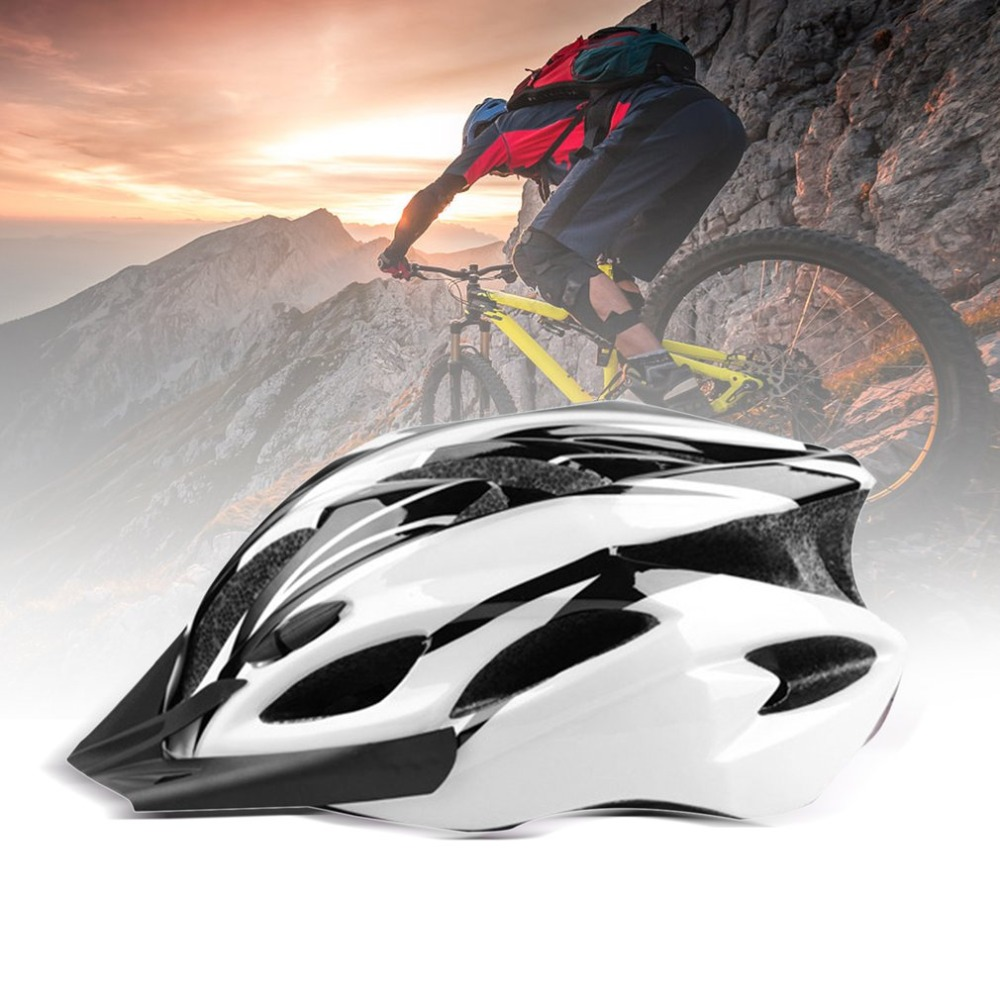 Mountain Bike Riding Helmet Eps Foam Pc Shell Road Safety Helmets For Giant Bike Breathable Adjustable Helmets Free Shipping In Bicycle Helmet From Sports
