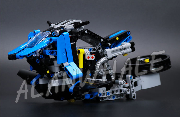 603pcs 2in1 Technic R 1200 GS Adventure 20032 DIY Motorcy Model Building Kit Blocks Gifts Children Toys Compatible With lego