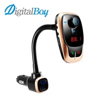 Digitalboy Car FM Transmitter Modulator Wireless Bluetooth With Dual USB Port Car Charger Car MP3 Player