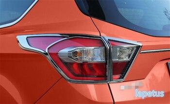Lapetus tylne światła tylne bagażnika dekoracji osłona ramy zgrabna sztuk/zestaw nadające się do Ford Kuga/Escape 2017 2018 2019 /ABS
