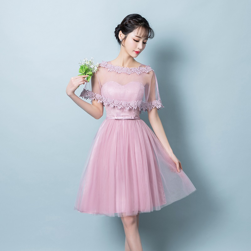 Bonito Vestido De La Dama De Honor Larga Champán Ideas Ornamento ...