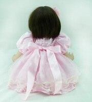 60cm Silicone Vinyl Reborn Baby Doll Toys
