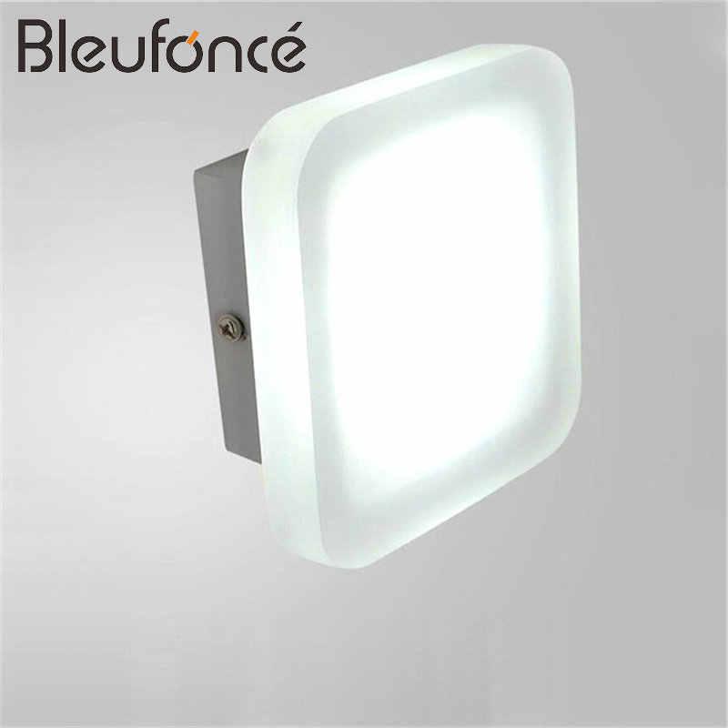 Настенный светильник светодиодный акрил Алюминий Спальня гостиная коридор бра украсить дом освещение комнатные настенные лампы BL145
