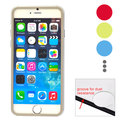 """Colorful Border Tempered Glass Screen Protector for iPhone 6S Plus/iPhone 6 Plus (5.5""""), 50 pcs in one package"""