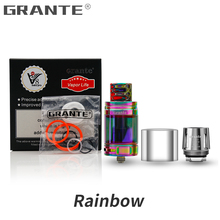 Grante V8 Big Baby Light Atomizer With V8 Big Baby Replaceable Glass 810 Snake Drip Tip V8 Baby M2 Core Vape Tank Vaporizer стоимость