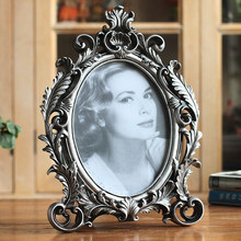 European antique old style oval resin frame home furnishings creative picture