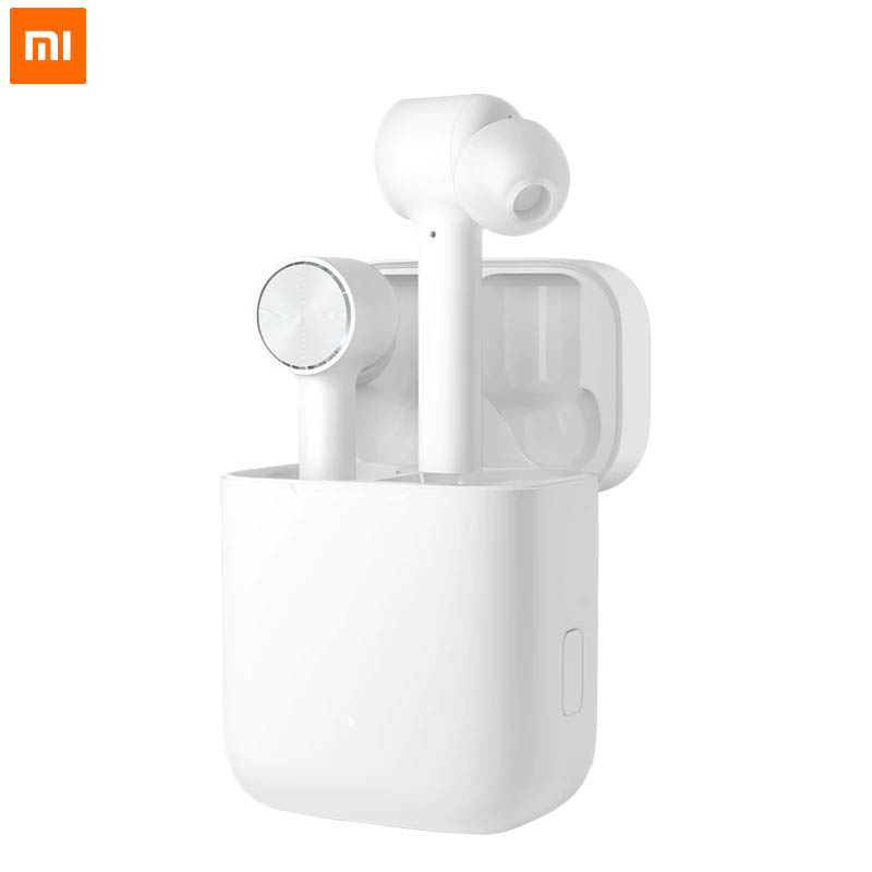2019 Xiaomi Air TWS Bluetooth Headset True Wireless Stereo Sport Earphone ANC Switch ENC Auto Pause Control xiaomi Airdots pro-in Bluetooth Earphones & Headphones from Consumer Electronics    1
