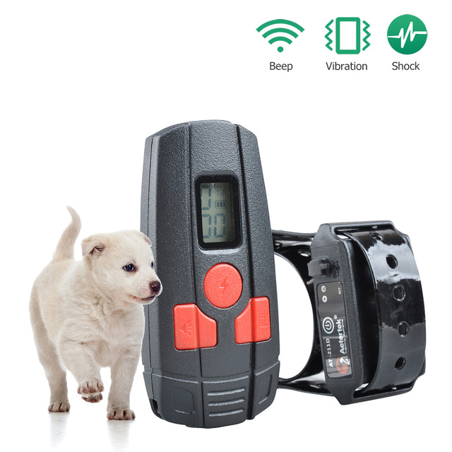 Free Shipping Aetertek At 211d Small Dog Shock Collar Rechargeable For