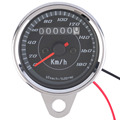 New Universal Motorbike Motorcycle Odometer Speedometer Gauge LED Back light 12V Velocimetro De La Motocicleta free shipping