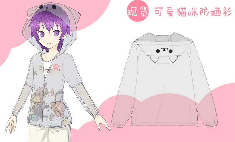 Summer Style Women Anime Cosplay Vestidos Sweet Polyester ...
