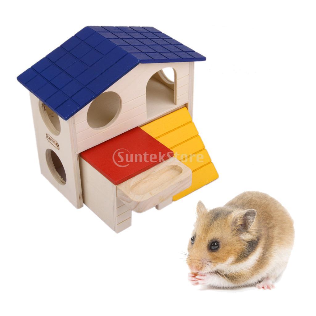achetez en gros hamster maison bois en ligne des grossistes hamster maison bois chinois. Black Bedroom Furniture Sets. Home Design Ideas