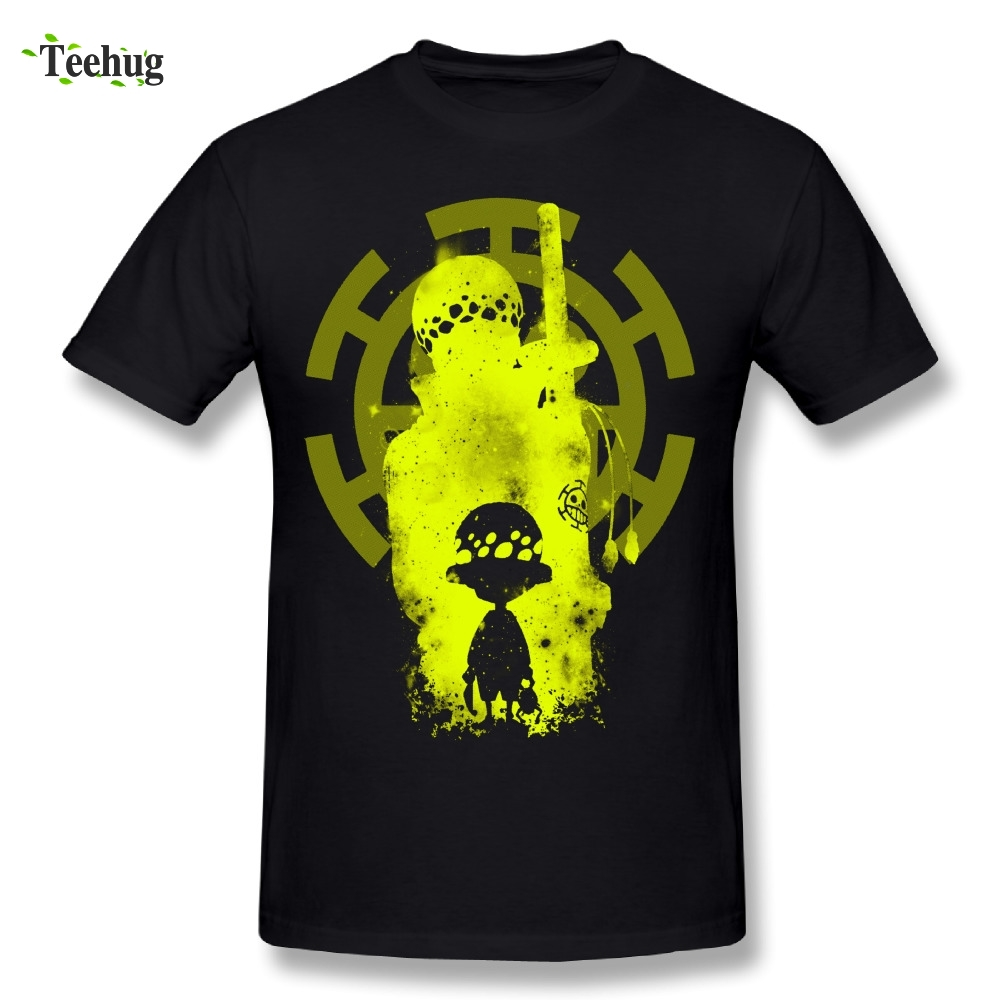 Trafalgar D Water Law T-shirt 100% Cotton One Piece Stylish Men's T Shirt