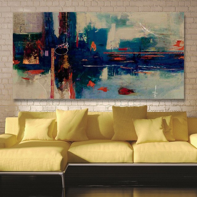 Canvas Printings Modern Abstract Painting Picture HD Prints Canvas ...