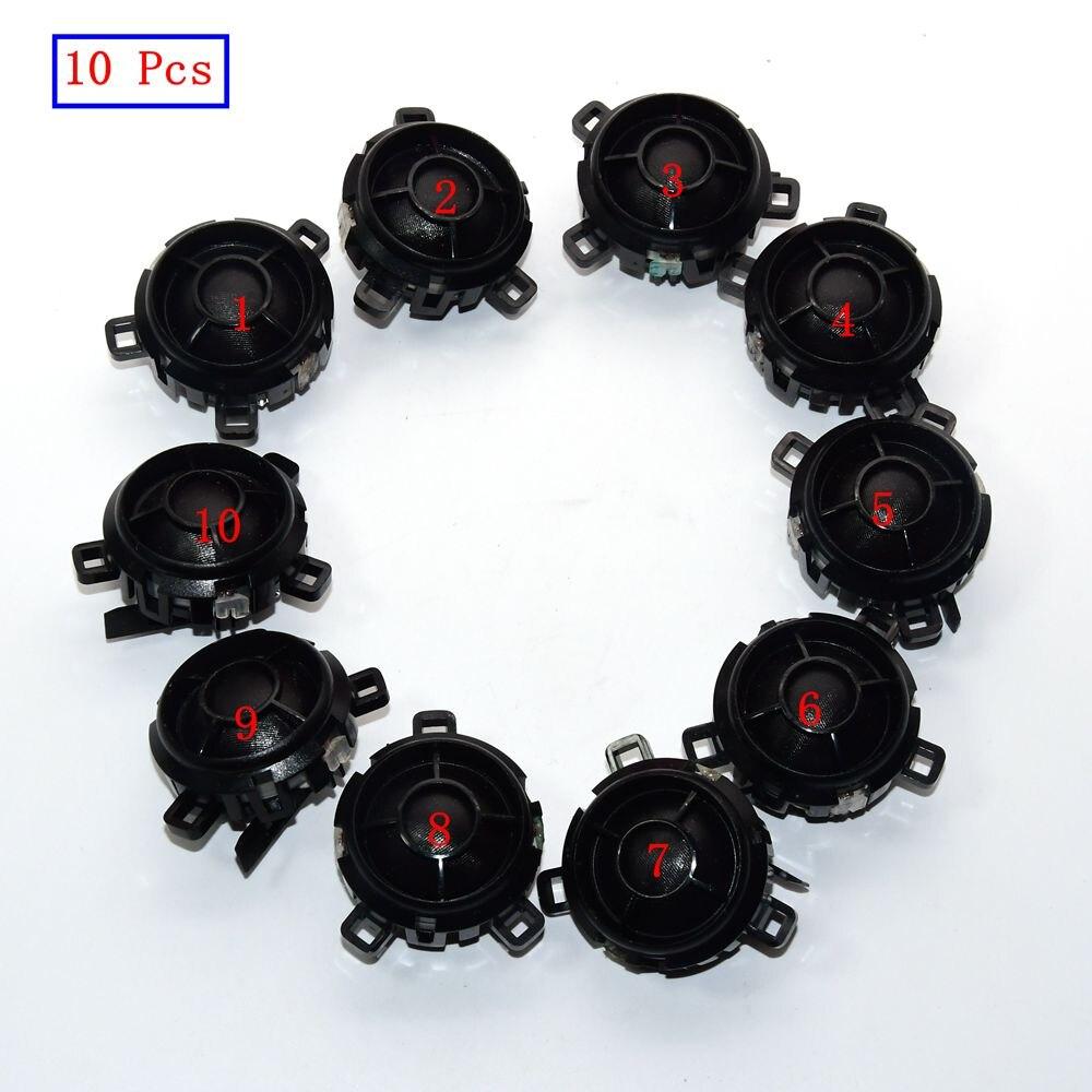10 pièces Porte Arrière Tweeter Sonnerie Haut-Parleur 5KD035411A 5KD 035 411 Un 5KD 035 411A Pour Golf MK5 MK6 Lapin