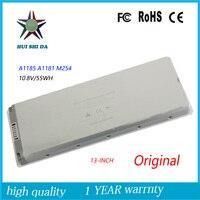 10.8 볼트 55WH 새로운 원래 노트북 배터리 애플 맥북 A1185에 MB402 A1181