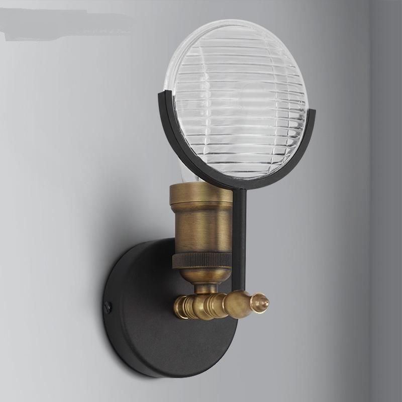 Здесь продается  creative retro  wall lamp za Simple iron wall lights Aisle study bar hallway balcony personalized wall lamps GY229  Свет и освещение
