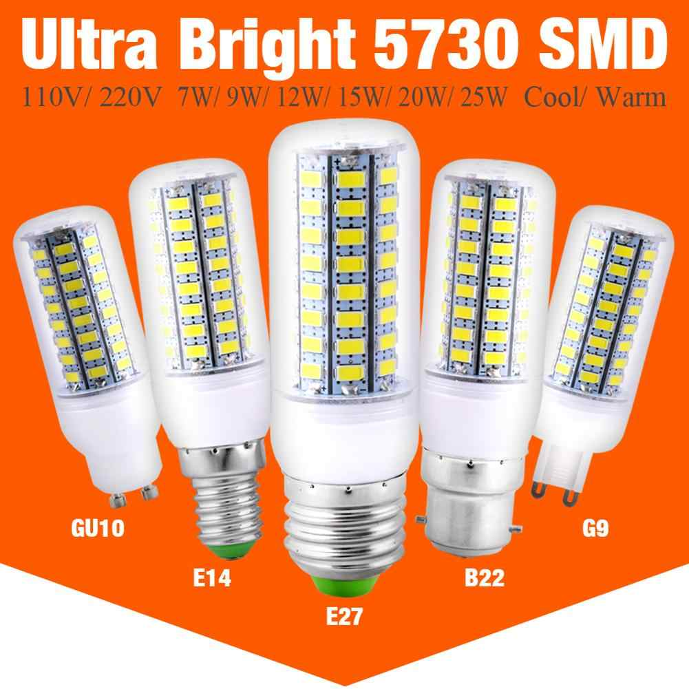 E27 E14 LED Corn Lights B22 5730 SMD G9 GU10 LED Bulbs 24 36 48 56 69 72LEDs Lampada Ampoule Lighting Leds Lamp Bombillas Bulb