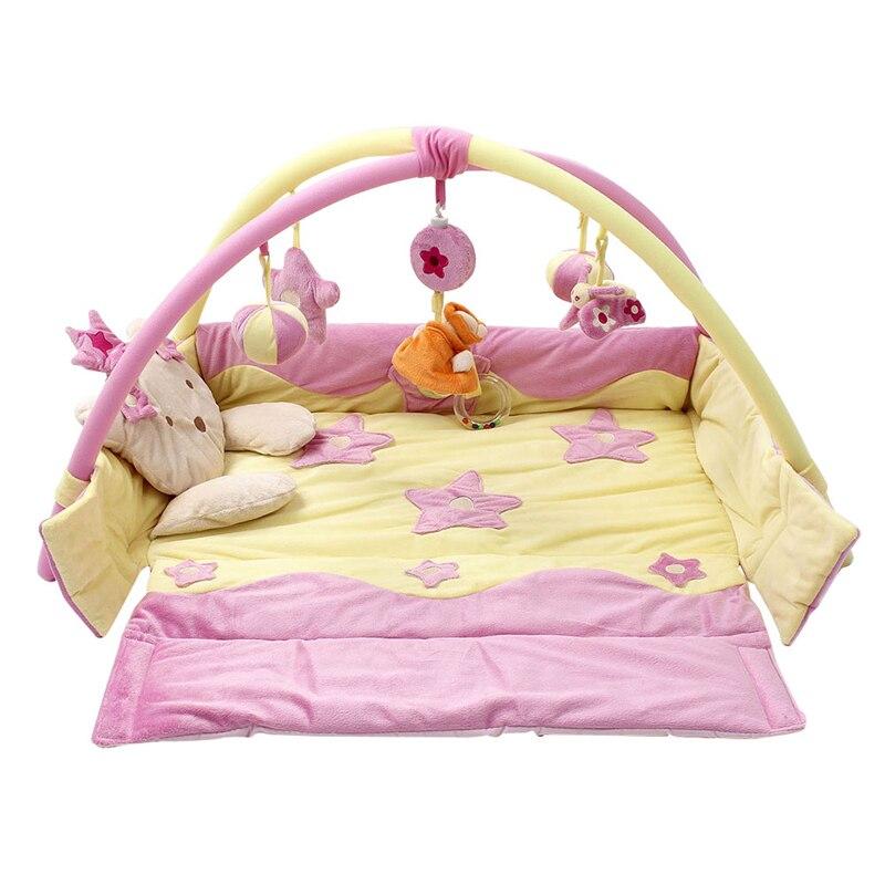 Tapis de jeu bébé jeu Tapete Infantil garçons filles tapis rampant éducatif jouer Gym enfants couverture tapis