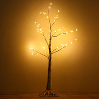 1 Pcs Simulation Tree LED Lights Decoration Christmas Party Home Festival Indoor Outdoor can CSV