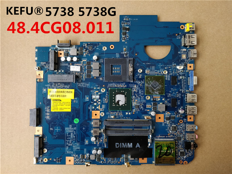 KEFU Free Shipping MBP5601019 Motherboard for Acer 5738 5738G MB P5601 019 JV50 MV DDR3 M92