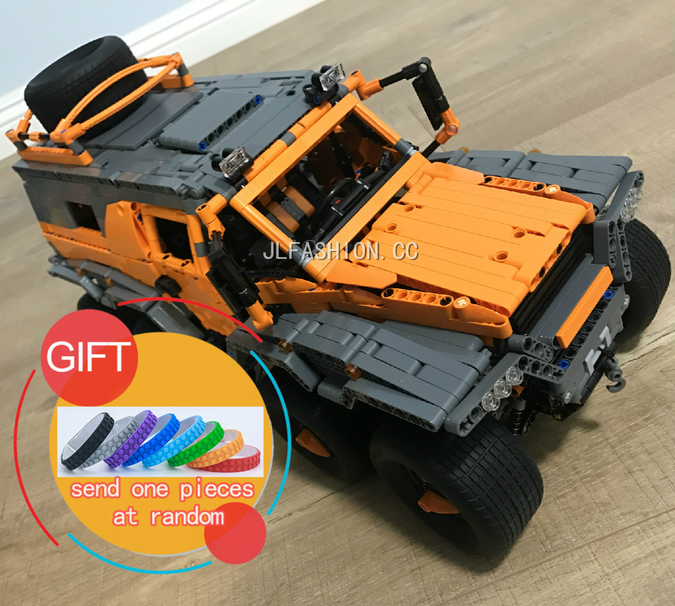 23011B 2816pcs Technical Series Off-road vehicle Model Building kits Blocks Compatible with 5360 boy brithday gifts toys lepin new lepin 23011 technic series 2816pcs off road vehicle model building blocks bricks kits compatible 5360 boy brithday gifts