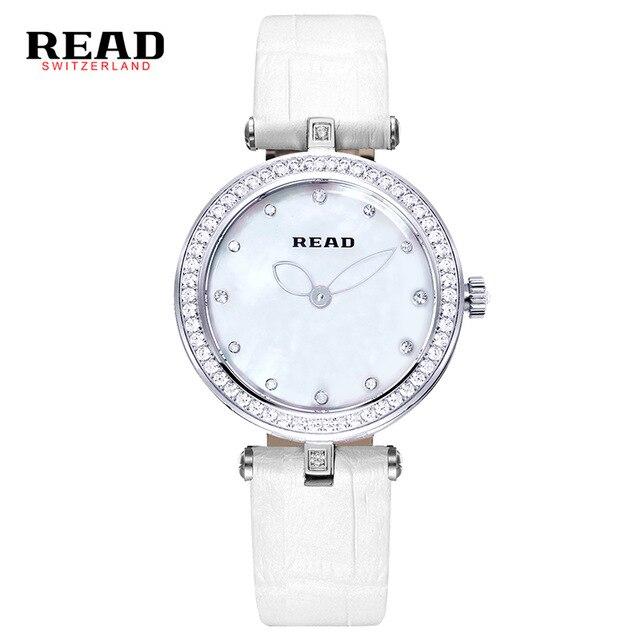 4606912c97da Leer moda reloj de cuarzo correa de cuero señoras reloj mujeres relojes  R6060