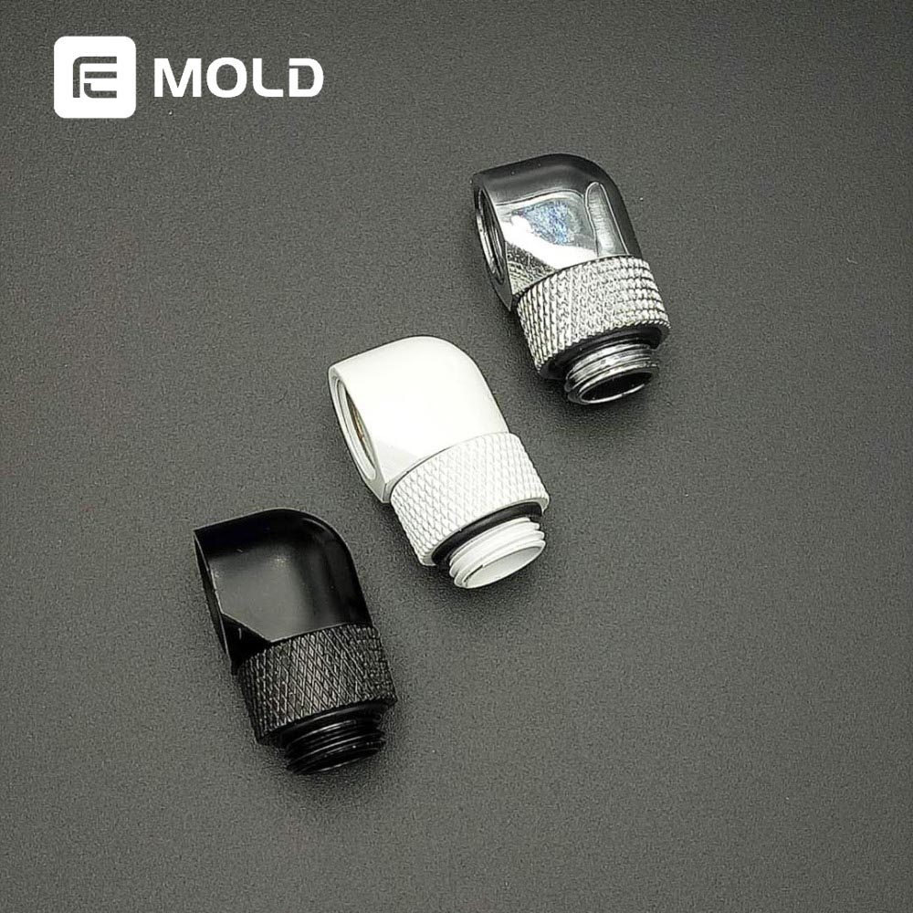 AegirX MOD Black Silver G1/4