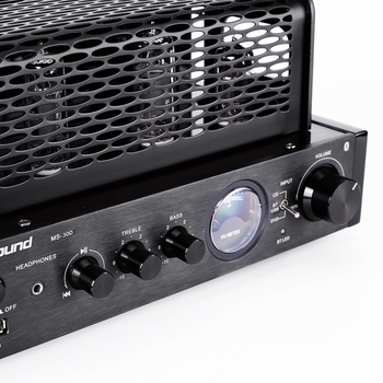 2018 new Tube black AMPLIFIER MS-30D hifi bluetooth tube Amplifier 25W+25W Support Usb Power amplifier MS-10D MKII upgrade