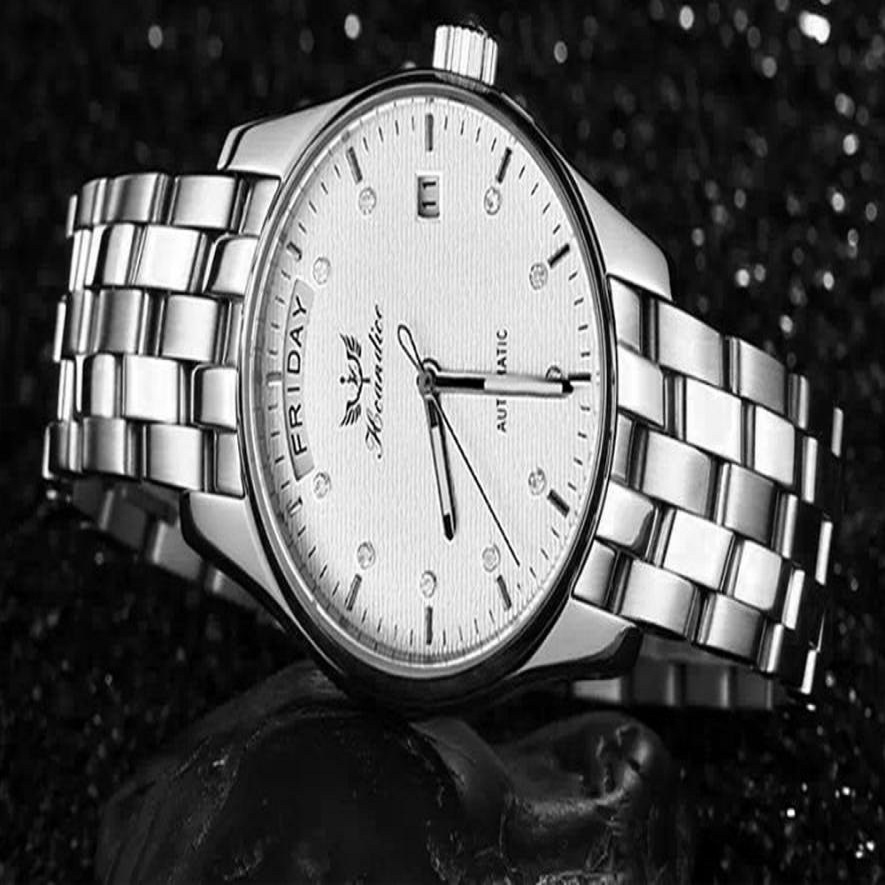 Senors 2017 Watches Men's Luxury Fashion Business Sports with Stainless Steel Band Analog Quartz my17 senors серебряный